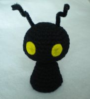 Chester the heartless amigurumi by npierce122