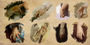 Hand Studies 001 by Andantonius