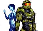 Commission: Master Chief and Cortana by Smudgeandfrank