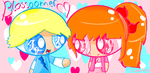 Blossoomer: You have something pink one your face by xSugar-Petals