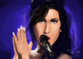 Amy Jade Winehouse by roze-hip-zero