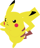 Pikachu Vector by ChelaGirl