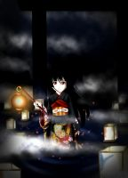 Jigoku Shoujo by Dark-Arya