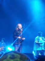 Robert Plant at Bluesfest ( I WAS FRONT ROW!!!) by Lebannalim