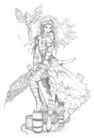 Pirate Lady by Fachhillis