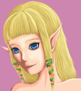 Skyward Sword Zelda by yasminload63