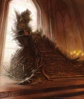 The Iron Throne by JakeMurray