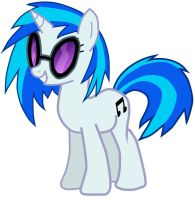 Vinyl Scratch vector by bdiddy20128