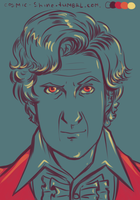 Pallete challenge - The Third Doctor by Miss-Alex-Aphey