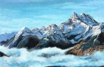 The Swiss Alps by KristynJanelle