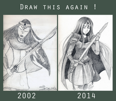 Draw this again (12 years) by Little-Roisin