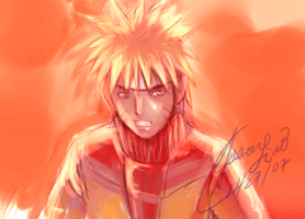 Naruto sketch by kaminarisora
