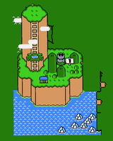 Super Mario World Map (Work in Progress) by Unstable-Life