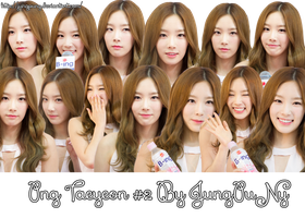 PNG Pack Taeyeon SNSD #2 By JungPuNy by jungpuny