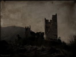 Castle of Miglos by Abgrundlich