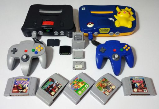 The Nintendo 64 collection. by GrimShady