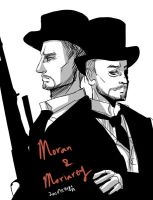 Moriarty and Moran by skylord1015