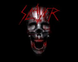 Slayer Skull Wallpaper by minus-blindfold
