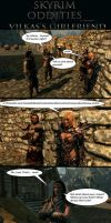 Skyrim Oddities: Vilkas's Girlfriend by Janus3003
