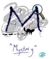 M is for Mystery by Swooping-Puma