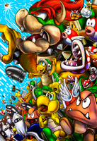Bowser's Army/Must Kill Mario! by KT-245