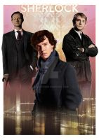 Sherlock - A Study in Pink by jlfletch