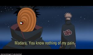 Madara and Pain by DemonkingD17