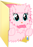Superpftfhtfp Fluffle Puff Folder Icon by Liny-An