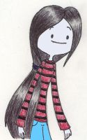 Marcie in Sweater by MiharuWatanabe
