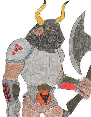 Jalhund the Minotaur