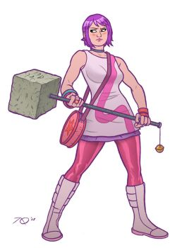 Ramona Flowers by quin-ones