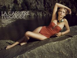 La Carriere Turquoise I by teilie