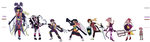 CL characters Fusion by graffiti-flower