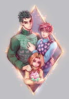 Kawajiri Familly by JostarJo