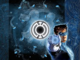 Blue Lantern WP by abard