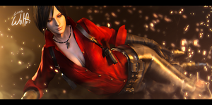 Ada Wong: Firestarter by LoneWolf117