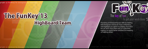 FB G Cover Funkey'13 highboard team by MidoVlan by Mido-Vlan