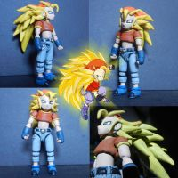 Pan Super Saiyan 3 fan figure by mayozilla