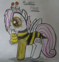 Huffe the Bee bee by Muketti