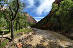 Zion River by heatherae