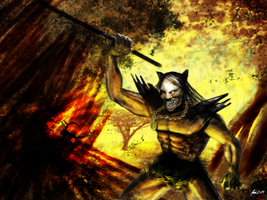 Uruk-hai from Lord of the Rings by atma33