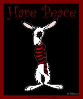 Hare Peace Is Here by darkest-light
