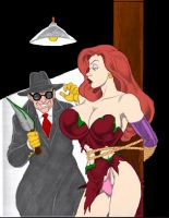 Doom Tortures Jessica Rabbit by Dustiniz117