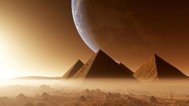 The Great Pyramids of Kaiser 2 by nethskie