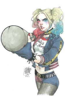 Harley Quinn - Suicide Squad by ArtisticPhun