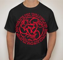 Celtic Animal Spell Shirts by Tesseri-Shira