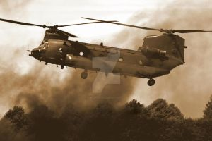 Boeing Chinook HC.2 by Alexgeorge14