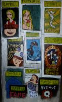 BROADWAY PLAYBILLS Wall 2 by jay3jay