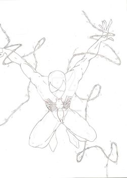Quick spidey sketch by King-Nothin243