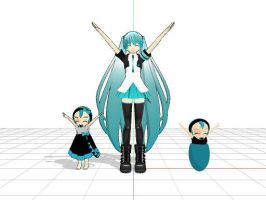 My Miku Models Part 2 by g-girl1